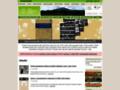 Náhled webu Program výzkumu Antarktidy