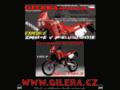 Náhled webu Gilera