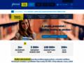 Náhled webu Glossa - škola jazyků