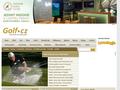 Náhled webu Český golfový rozcestník