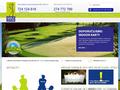 Náhled webu Golf Hostivař