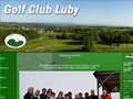 Náhled webu Golfový klub Luby u Chebu