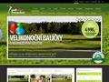 Náhled webu Golf klub Nová Bystřice