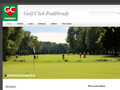 Náhled webu Golf Poděbrady