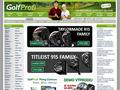 Náhled webu GolfProfi.cz