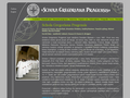 Náhled webu Schola Gregoriana Pragensis