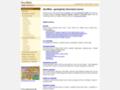 Náhled webu Geoweb
