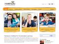 Náhled webu Hampson CS Ltd.