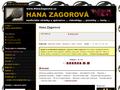 Náhled webu Zagorová, Hana