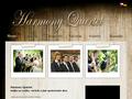 Náhled webu Harmony Quartet