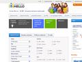 Náhled webu Hello language school