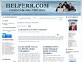 Náhled webu Helperr
