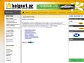 Náhled webu Helpnet -- užitečné odkazy