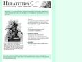 Náhled webu Hepatitida C