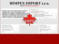 Náhled webu Himpex