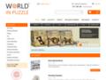 Náhled webu World in Puzzle