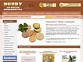 Náhled webu Hobby Havířov: filatelie a numismatika