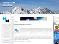 Náhled webu Horolezecká metodika HO Sakal