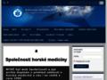 Náhled webu Společnost horské medicíny