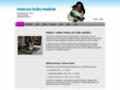 Náhled webu Hotel pro kočky Mazlíček