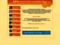 Náhled webu Lidské papillomaviry a cervikální léze