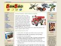 Náhled webu BanBao Stavebnice