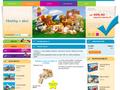 Náhled webu Hračky dětem
