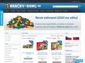 Náhled webu Hračky Kong - Lego stavebnice