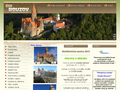 Náhled webu Bouzov a Šternberk