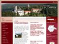 Náhled webu Rožmberk nad Vltavou