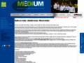 Náhled webu Medium