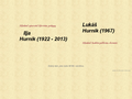 Náhled webu Hurník, Ilja a Lukáš