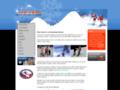 Náhled webu Ice Peak