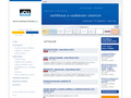 Náhled webu Institut Svazu účetních, a.s.
