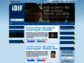 Náhled webu Institut digitální fotografie (IDIF)