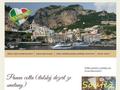 Náhled webu I love Italy