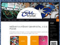 Náhled webu CM Krystal v.o.s.