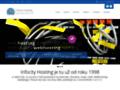 Náhled webu Infocity