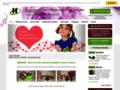 Náhled webu H-Květiny