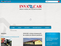 Náhled webu Invacar