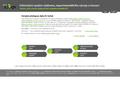 Náhled webu Informační systém výzkumu, experimentálního vývoje a inovací