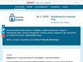 Náhled webu IT Security Workshop