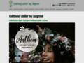 Náhled webu Květinový ateliér
