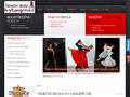 Náhled webu Taneční škola Ivy Langerové