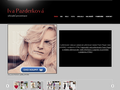 Náhled webu Iva Pazderková