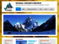 Náhled webu Nejen horolezecký web