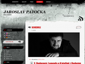 Náhled webu Patočka, Jaroslav