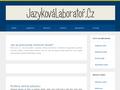 Náhled webu JazykováLaboratoř.cz