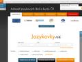 Náhled webu Jazykovky