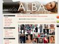 Náhled webu Jessica Alba